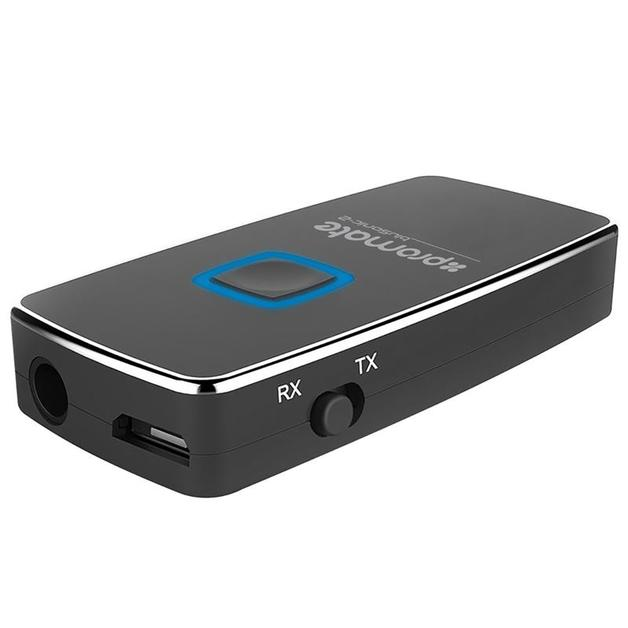 Promate 2-in-1 Bluetooth Wireless Audio Transmitter and Receiver