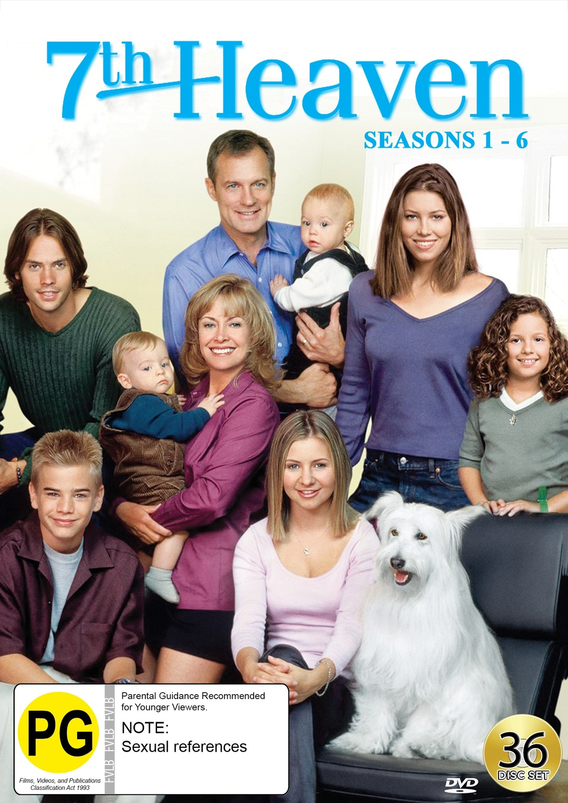 7th Heaven: Collection One - Seasons 1-6 on DVD image