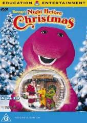 Barney - Night Before Xmas on DVD