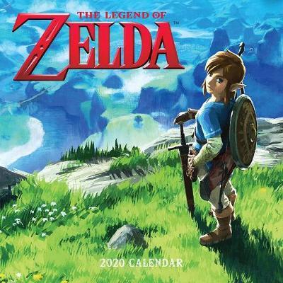 Legend of Zelda 2020 Wall Calendar by Pokemon