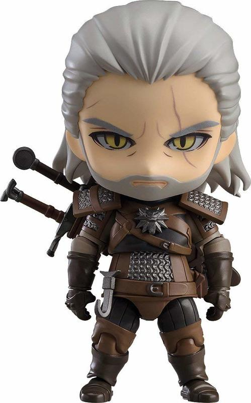 The Witcher: Geralt - Nendoroid Figure