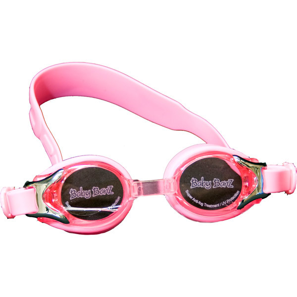Pink Swimming Goggles image