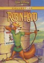 Robin Hood (animated) on DVD