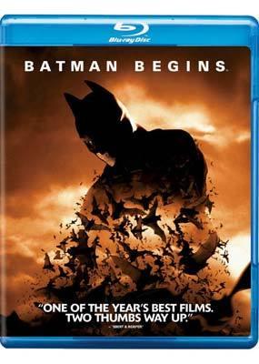 Batman Begins on Blu-ray