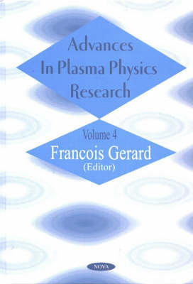 Advances in Plasma Physics Research: v. 4