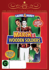 March of the Wooden Soldiers on DVD