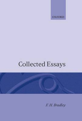 Collected Essays by F.H. Bradley image