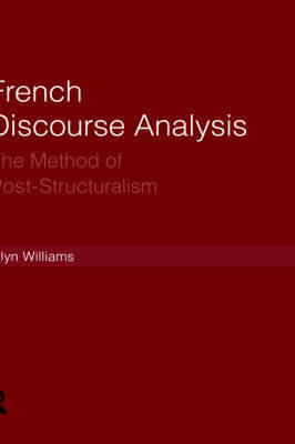French Discourse Analysis by Glyn Williams image
