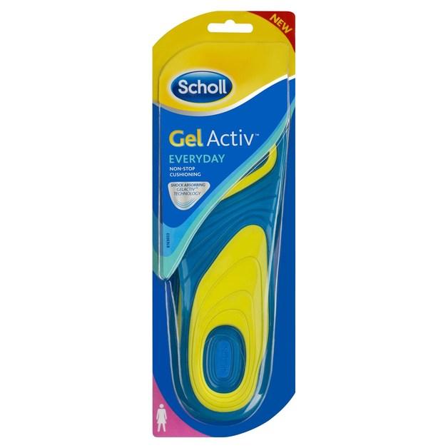 Scholl GelActiv Insoles - Everyday Women