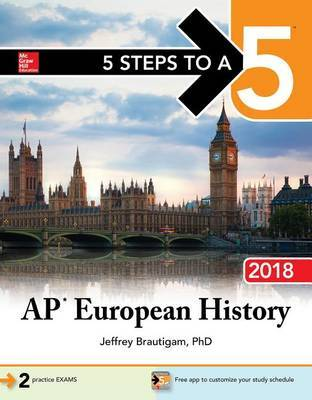 5 Steps to a 5: AP European History 2018 by Jeffrey Brautigam image
