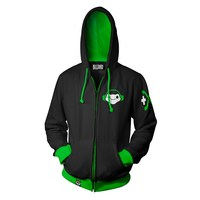 Overwatch Ultimate Lucio Zip-Up Hoodie (Medium)