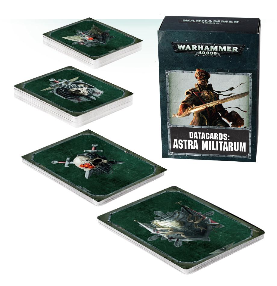Warhammer 40,000: Datacards - Astra Militarum image