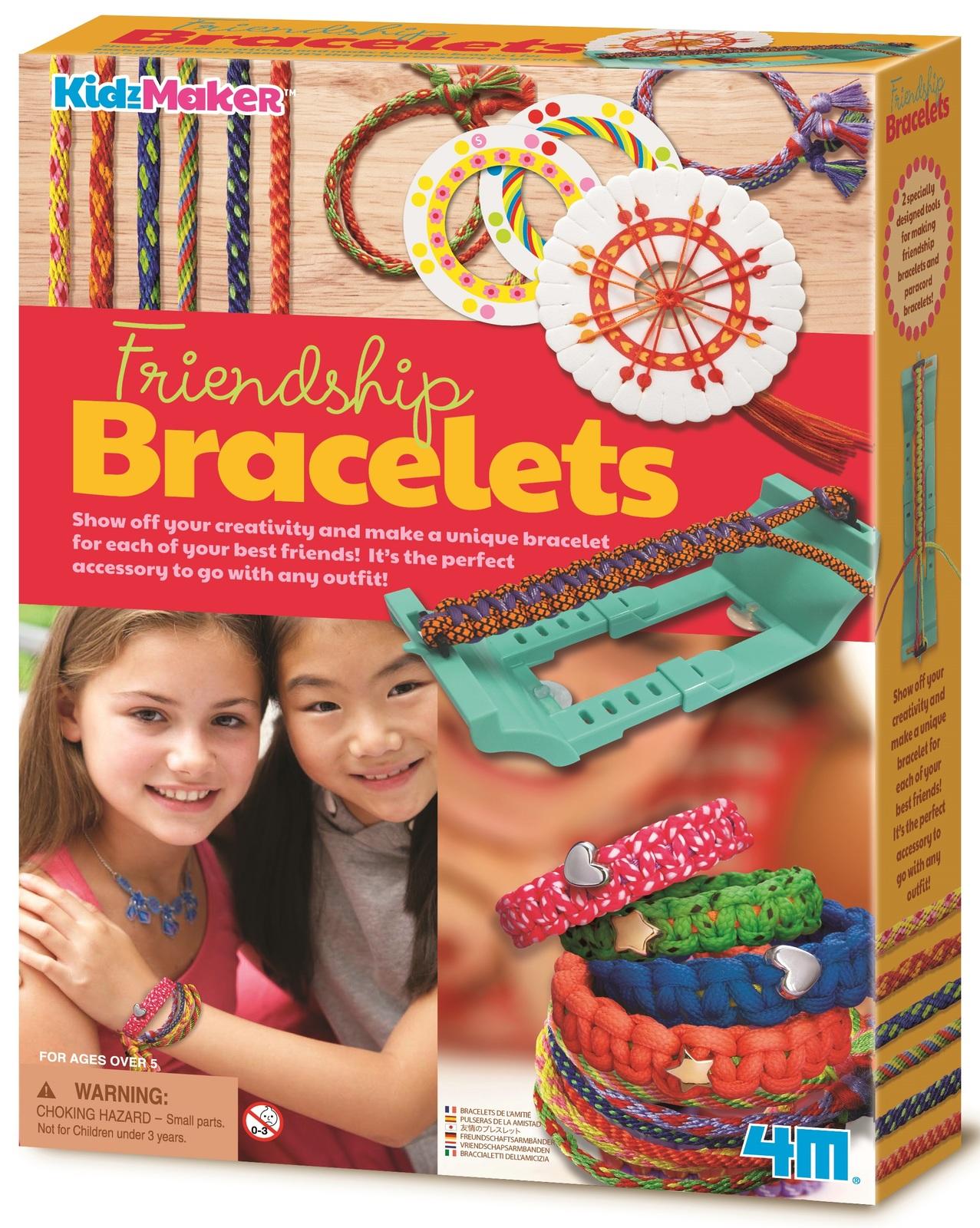 4M KidzMaker: Friendship Bracelets Fashion Kit image