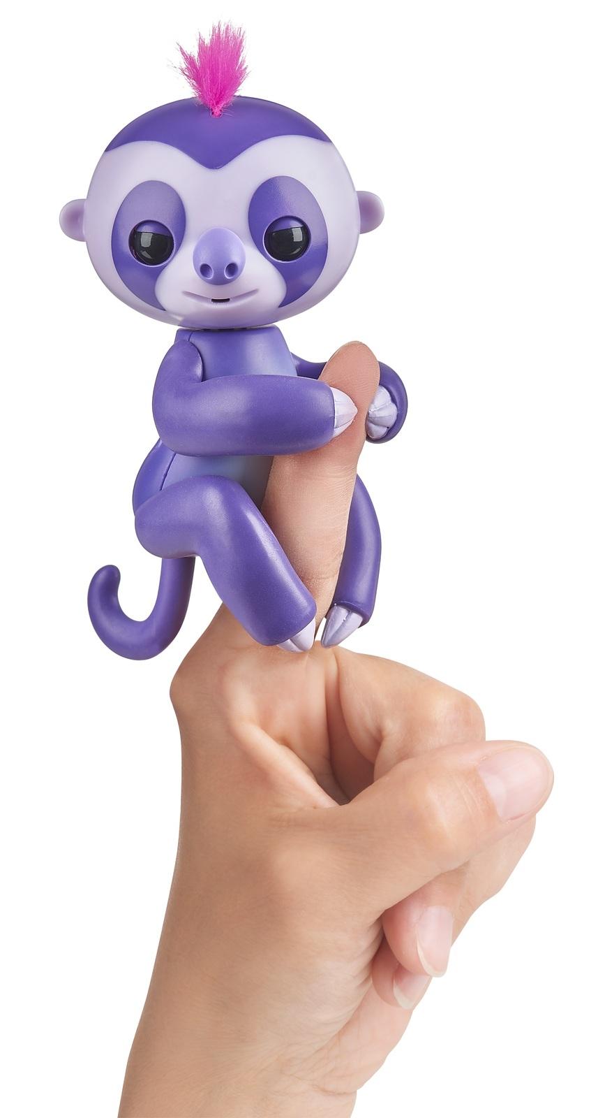 Fingerlings: Interactive Baby Sloth - Purple image