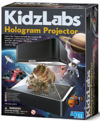 4M: Kidzlabs Hologram Projector Kit