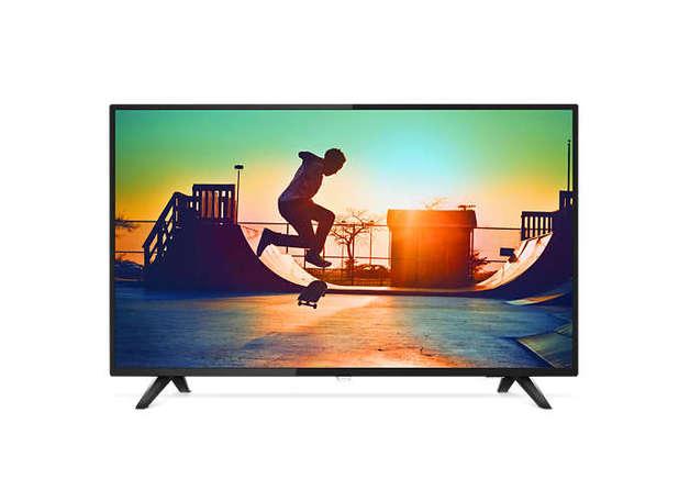 "Philips: 6100 Series 55"" 4K HDR Smart TV - 3 x HDMI , 2 x USB, Wifi & RJ45"