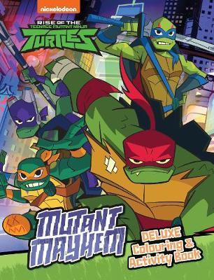 Rise Of The Teenage Mutant Ninja Turtles Mutant Mayhem