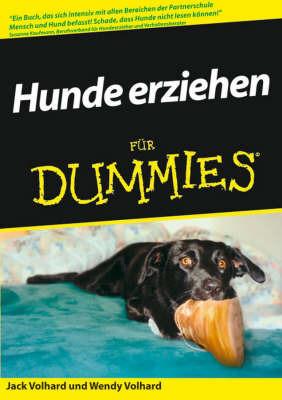 Hunde Erziehen Fur Fummies by Jack Volhard image
