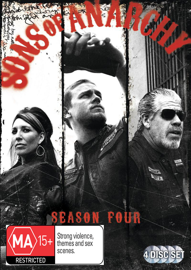 Sons of Anarchy - Season 4 on DVD image