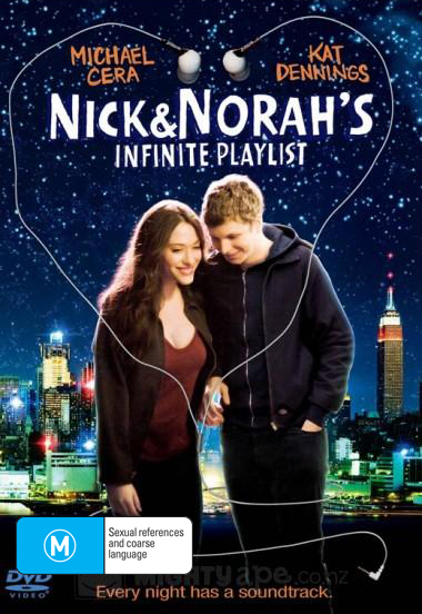Nick & Norah's Infinite Playlist on DVD image