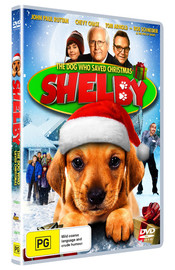 Shelby - The Dog Who Saved Christmas on DVD