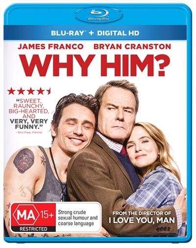 Why Him? on Blu-ray
