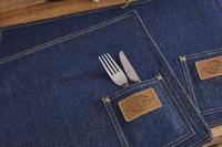 Cooksmart: Oxford Denim - Placemats (Set of 2)