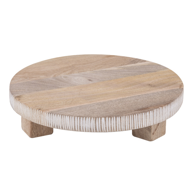 Davis & Waddell: Canyon Footed Serving Board (30x30x7.5cm)