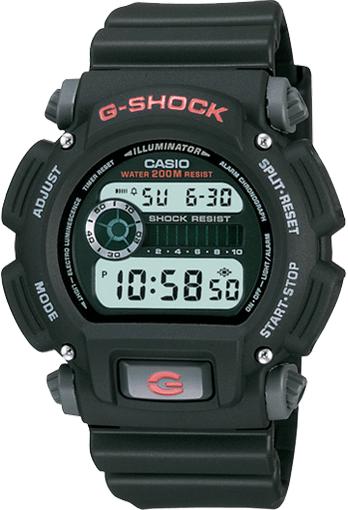 Casio G-Shock Digital Mens Black Watch DW9052-1V DW-9052-1VDR