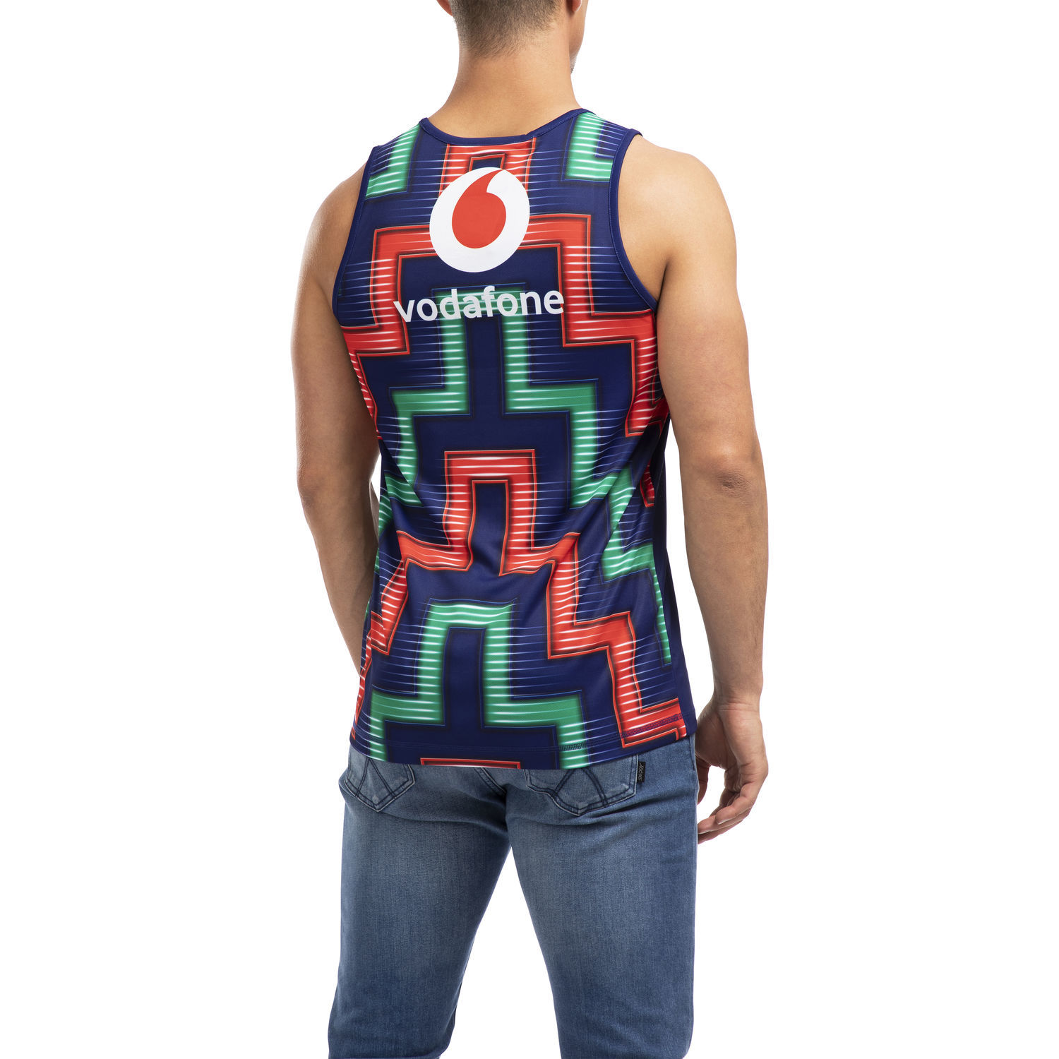 Vodafone Warriors Vapodri Training Singlet (M) image