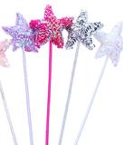 Fairy Girls - Puffy Star Wand (Hot Pink)