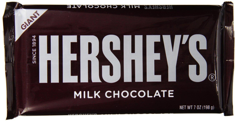 Hershey's Bar Giant Milk Chocolate 198g image
