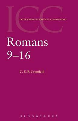 Romans 9-16 by Cranfield image