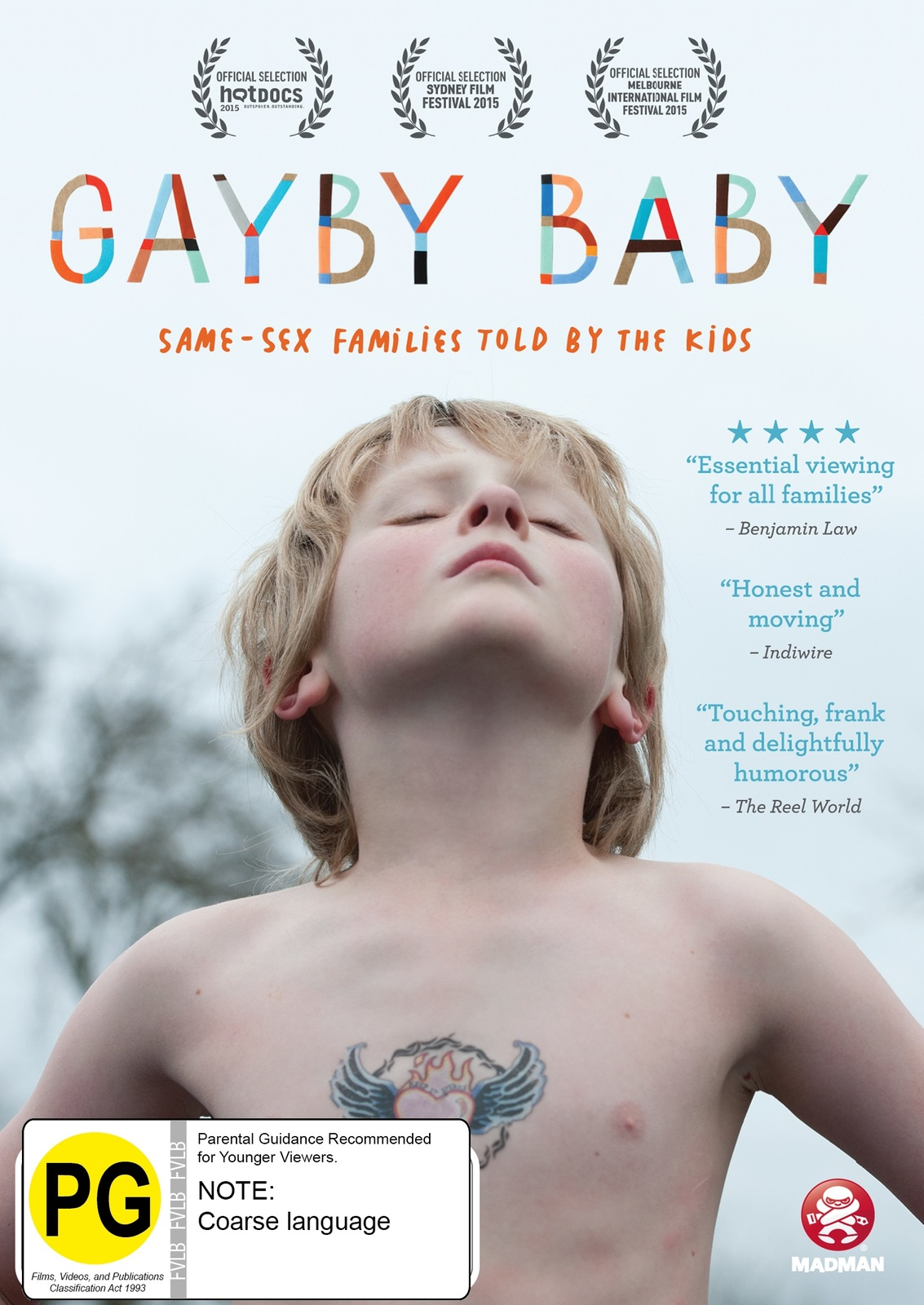 Gayby Baby on DVD image