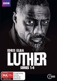 Luther: Series 1-4 Collection Boxset on DVD