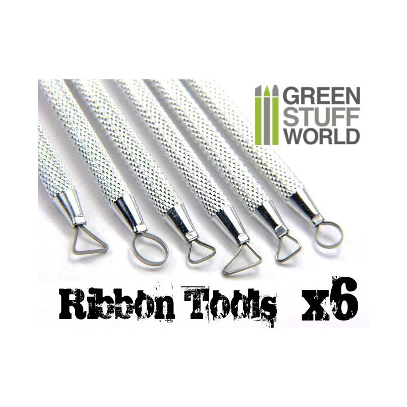 Green Stuff World Mini Ribbon Sculpting Tool Set image