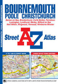 Bournemouth Street Atlas by Geographers A-Z Map Company