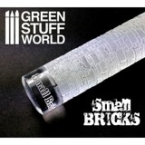 Green Stuff World Texture Rolling Pin: Small Bricks