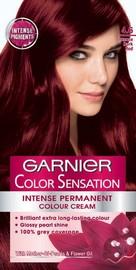 Garnier Color Sensation Permanent Hair Color - 4.60 Intense Dark Red