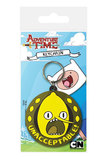 Adventure Time: Rubber Keychain Lemongrab Unacceptable (6cm)