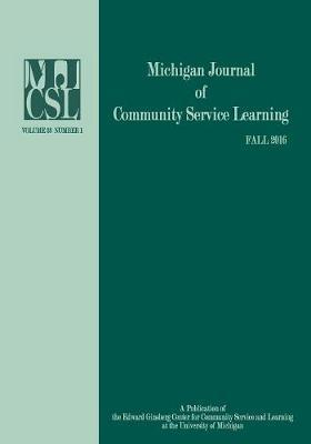 Michigan Journal of Community Service Learning image