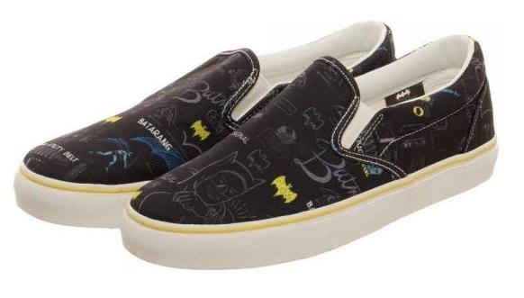 DC Comics: Batman Gear Unisex Deck Shoe (Size 8)