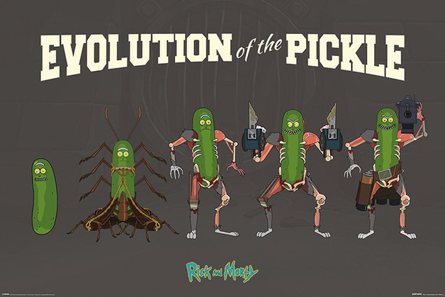 Rick And Morty - Pickle Evolution Maxi Poster (229)