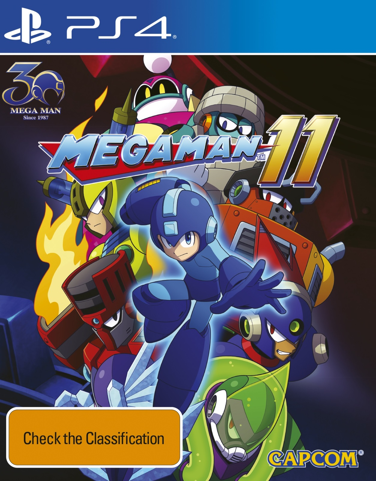 Mega Man 11 for PS4 image