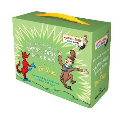 Little Green Box of Bright and Early Board Books by Dr Seuss