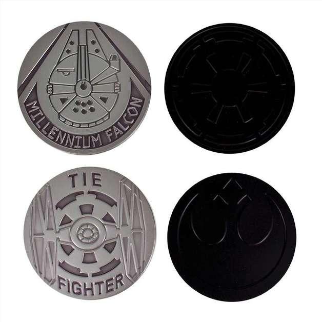 Star Wars - Metal Coasters Set (Set of 4)