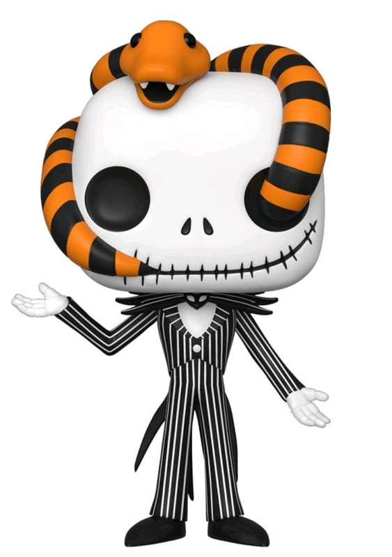 Nightmare Before Christmas - Jack (Snake Head) Pop! Vinyl Figure