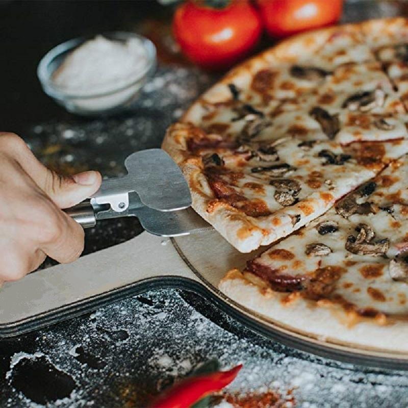 Ape Basics: 3-in-1 Stainless Steel Pizza Server Knife image