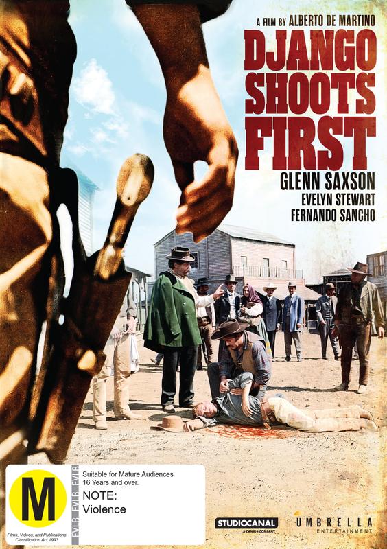 Django Shoots First on DVD
