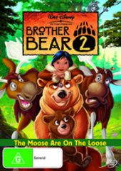 Brother Bear 2 on DVD